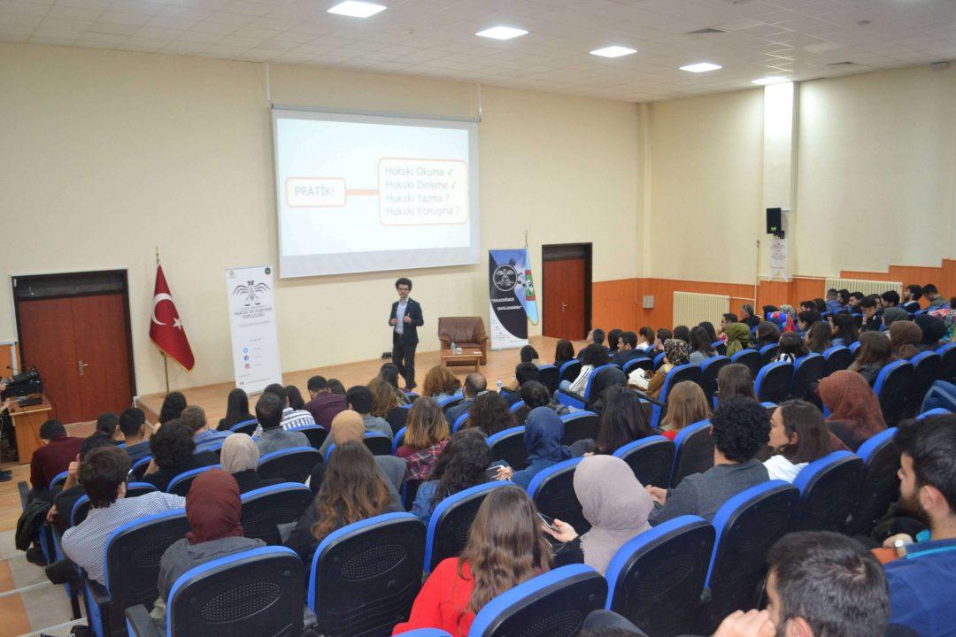 Selçuk Üniversitesi Hukuk ve Kariyer Topluluğu Etkinliği - Zihin Haritası